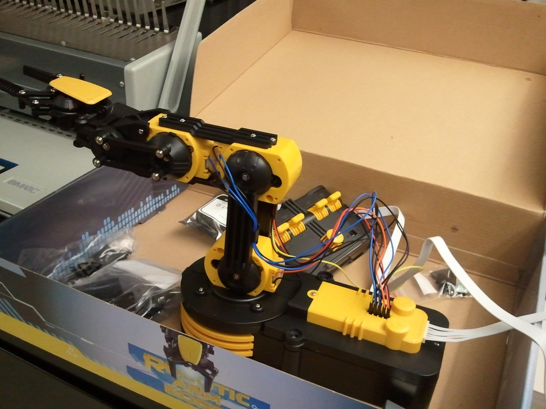 Sensing Robotic Arm Timothy Boger S Engineering Blog